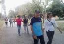 En el marco del 80 aniversario de la FCV-UCV se realizó una caminata en Maracay