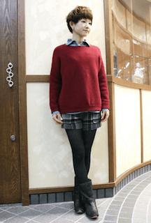 ニット・セーターのサイズ感)