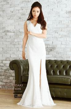白いドレス