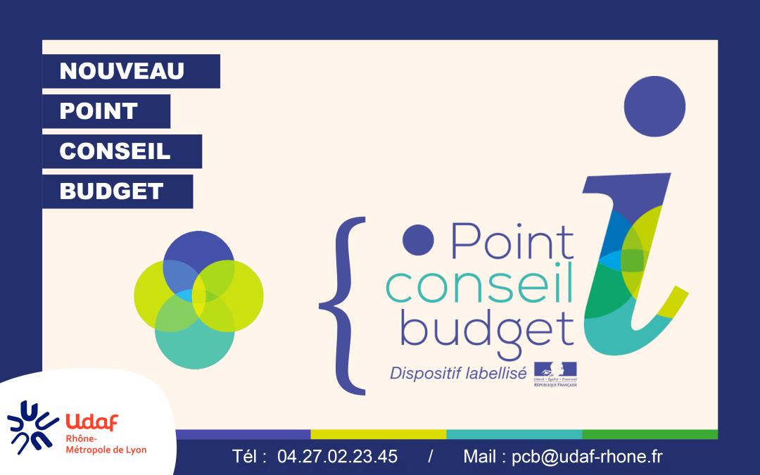 Un 5e label Point Conseil Budget pour l'UDAF 69
