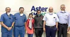 Medical Feat! Doctors at Aster CMI Hospital successfully remove 3.5 kg crippling tumour from a 15-year-old girl's neck