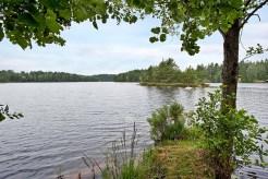 Utsikt över sjön Torskabotten