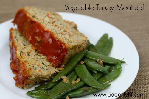 Vegetable Turkey Meatloaf