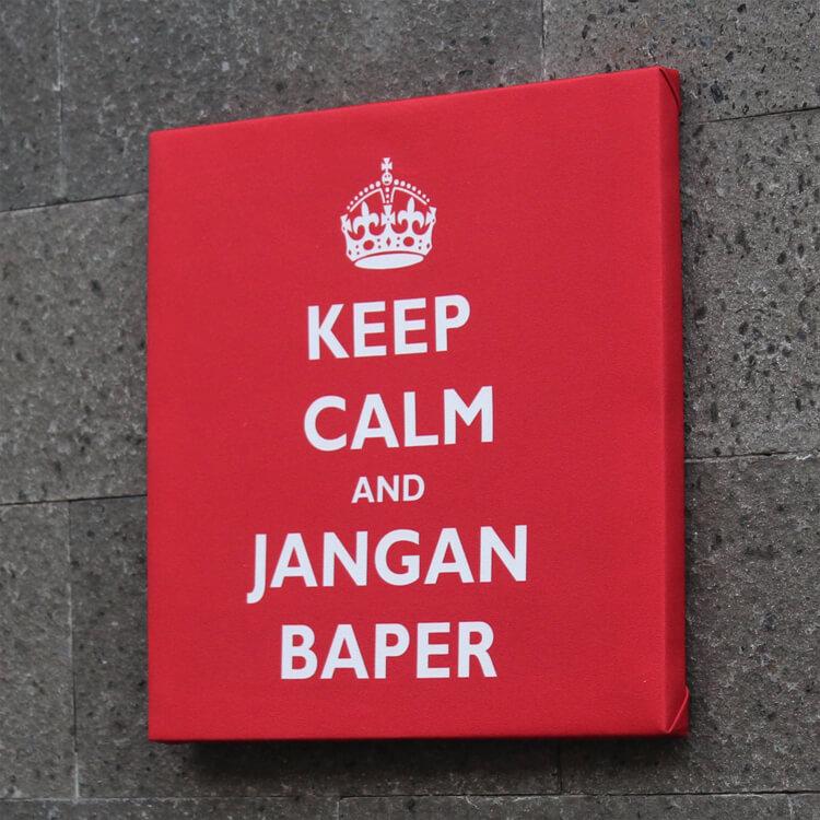 arti kata baper