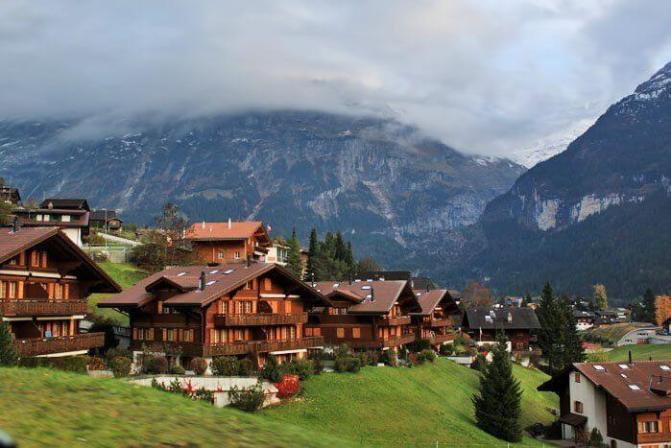 Gambar Pemandangan Desa Yang Indah Gambar Pemandangan Indah