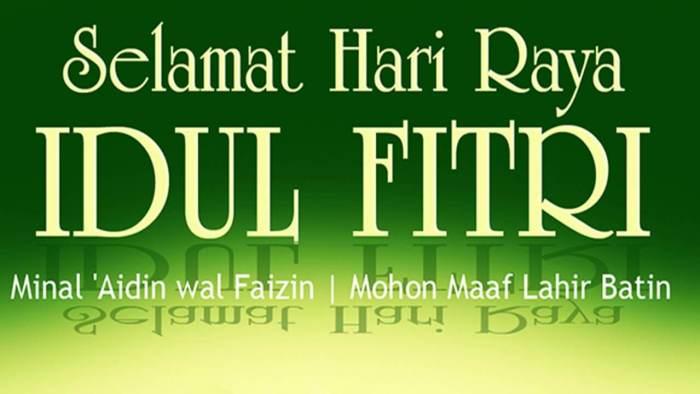Ucapan Idul Fitri yang baik dan benar