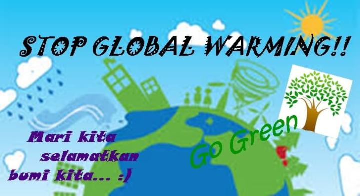 Contoh Poster Stop Global Warming