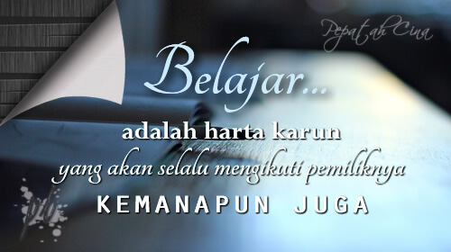 kata bijak motivasi cinta hidup kerja sahabat dan islami