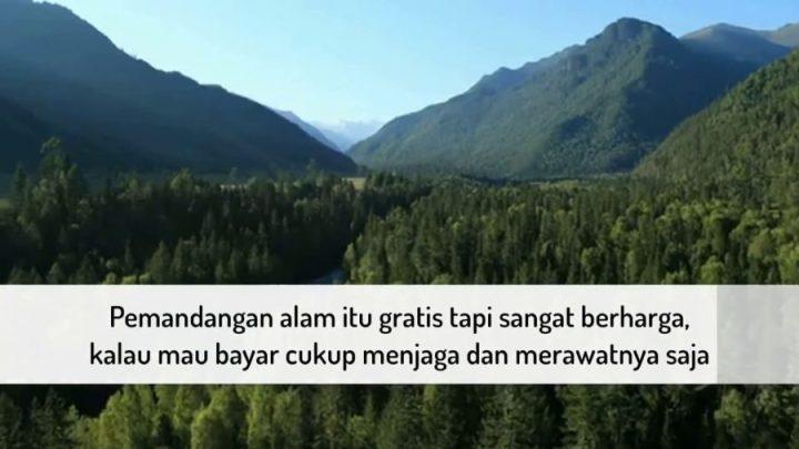 kata kata indah tentang alam