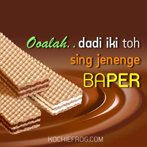 kata kata baper