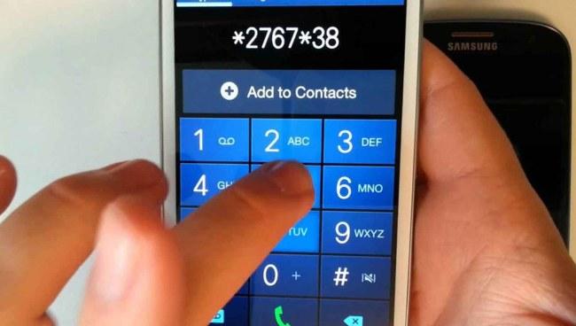 Reset HP Samsung Dengan Kode Khusus