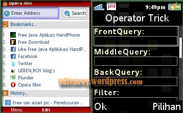 Opera Mini modif HandlerUI