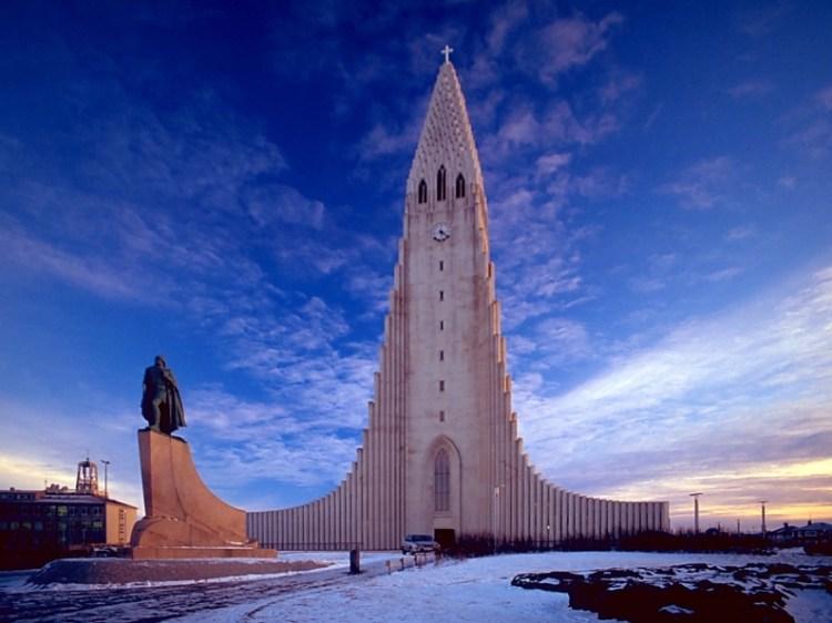 Городской собор Рейкьявика - Хатльгримскиркья. Фото