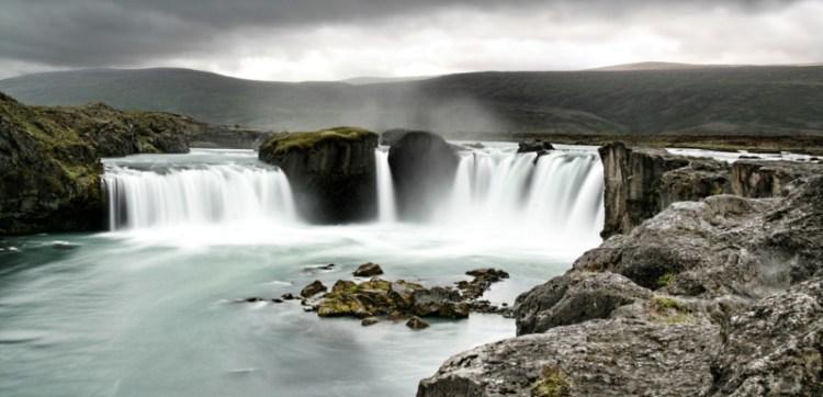 Водопад Годафосс. Фото