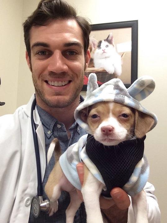 Эван Антин – ветеринар, который покорил интернет. Фото