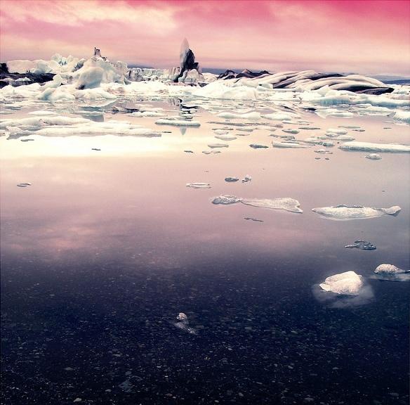 Ледниковая лагуна Ёкюльсаурлоун. Фото