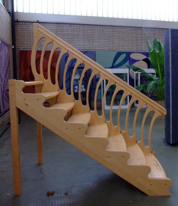 Лестница от Луиджи Колани. Выставка в Карлсруэ. Фото