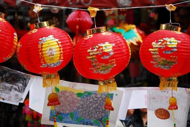 Праздник фонарей в Китае. Фото