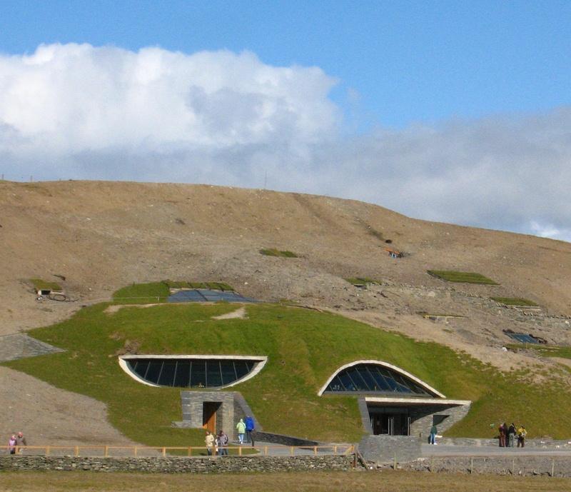 Утесы Мохер в Ирландии. Экологический комплекс. Фото