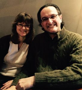 Jen Schoener with Drew Shanefield