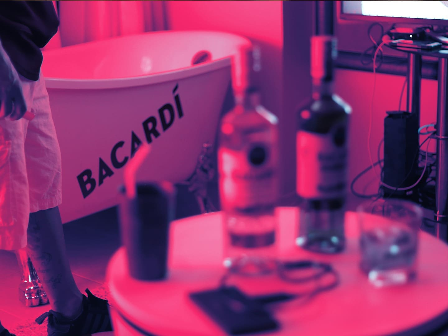 Bacardi House Party Tub