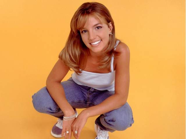Britney Spears when she was young