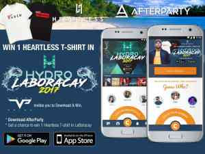 AfterParty and Heartless tshirt contest