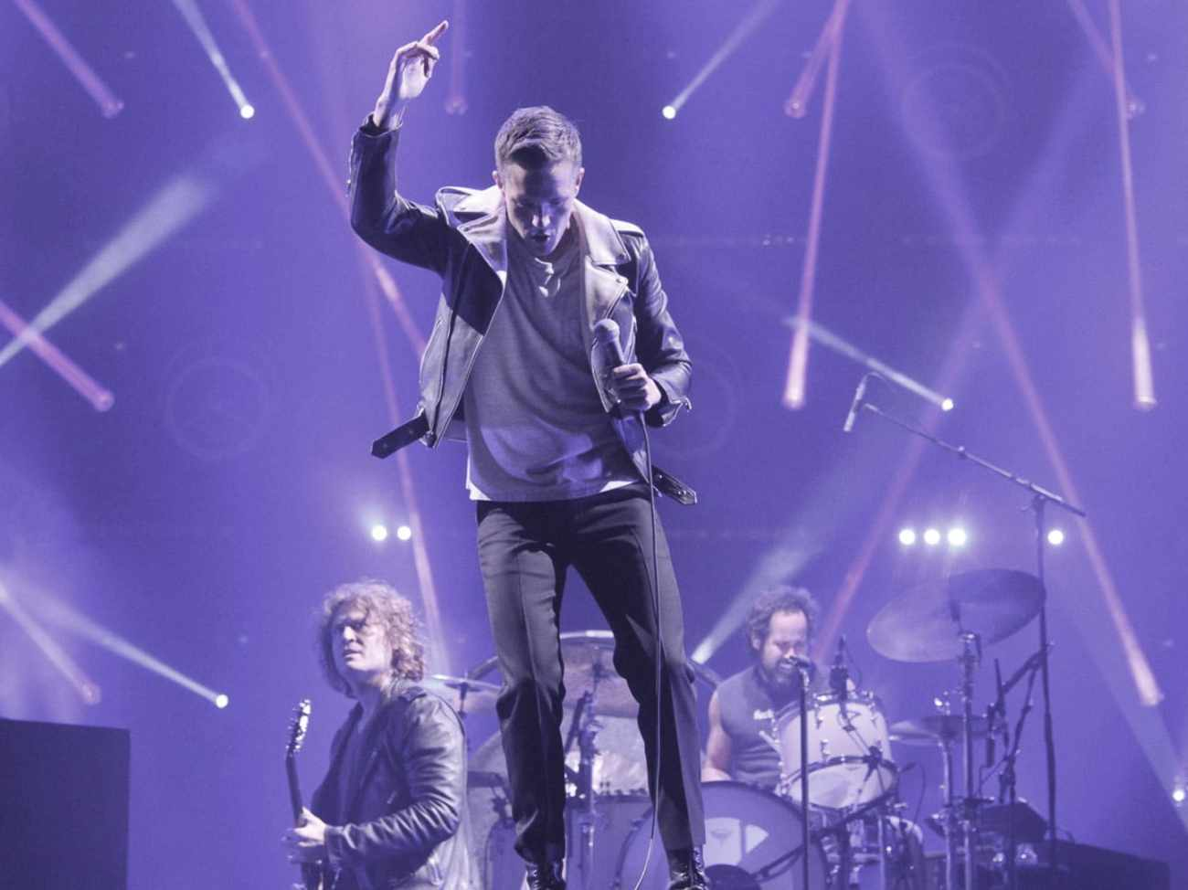 The Killers Performing