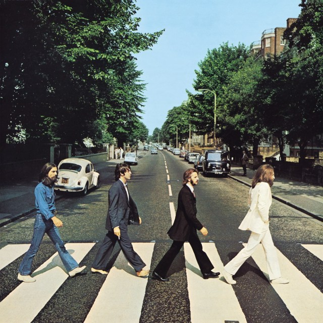 Abbey Road album cover of The Beatles