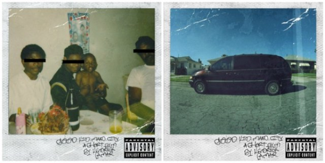 good kid MAAD city album cover by Kendrick Lamar