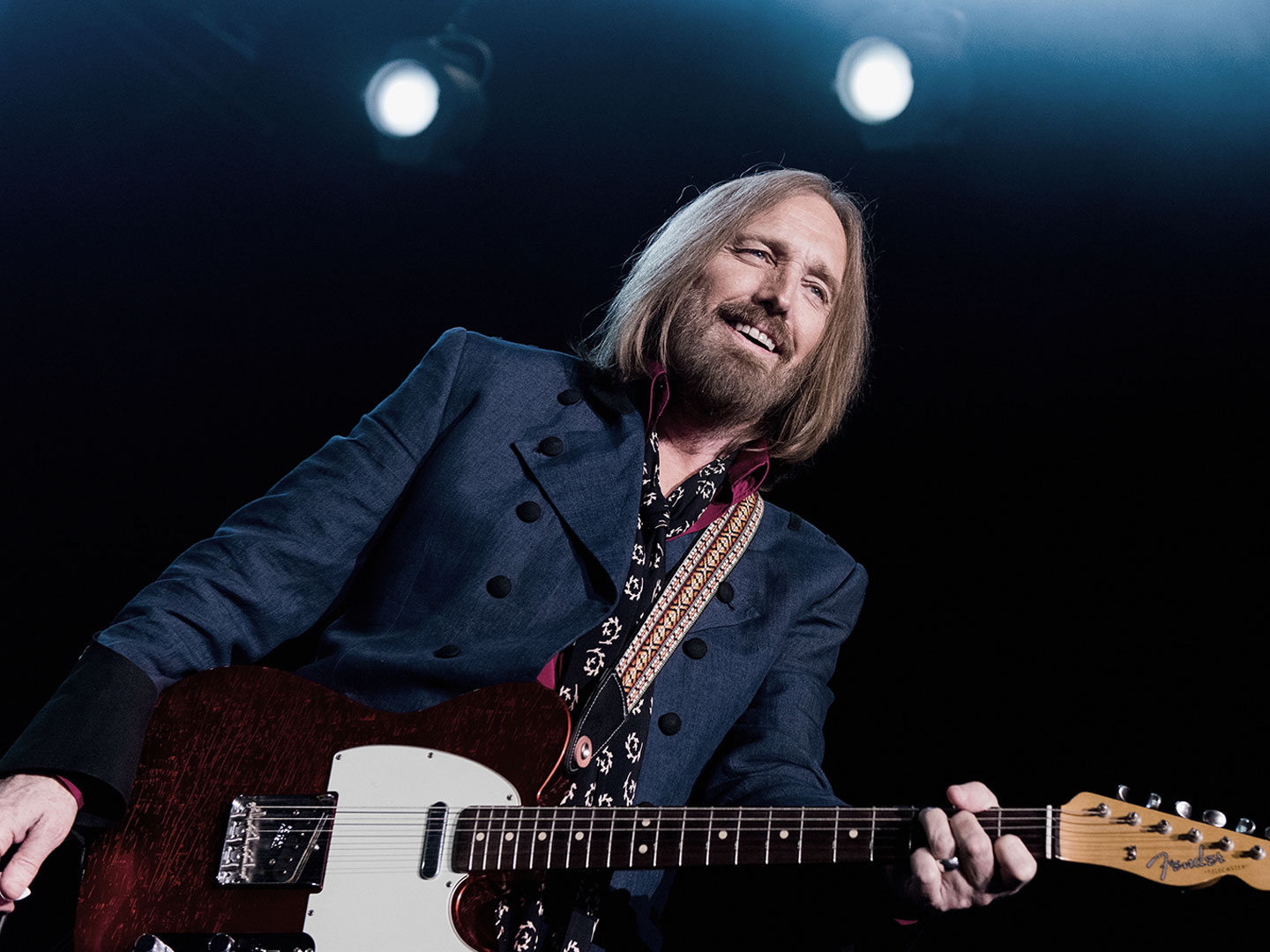 Tom Petty of the Heartbreakers performing live