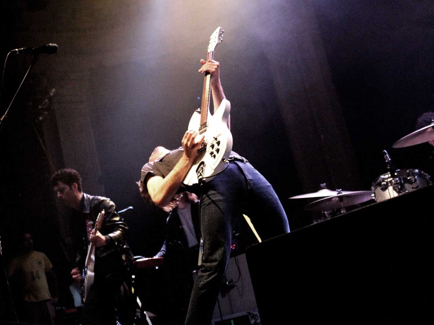 The Vaccines performing live in Columbus, Ohio
