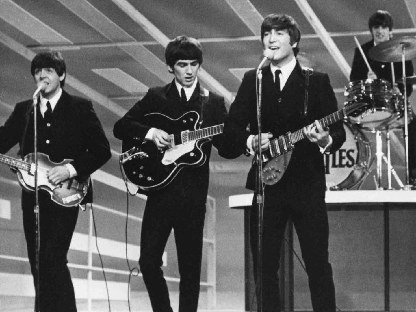 The Beatles live at the Ed Sullivan Show
