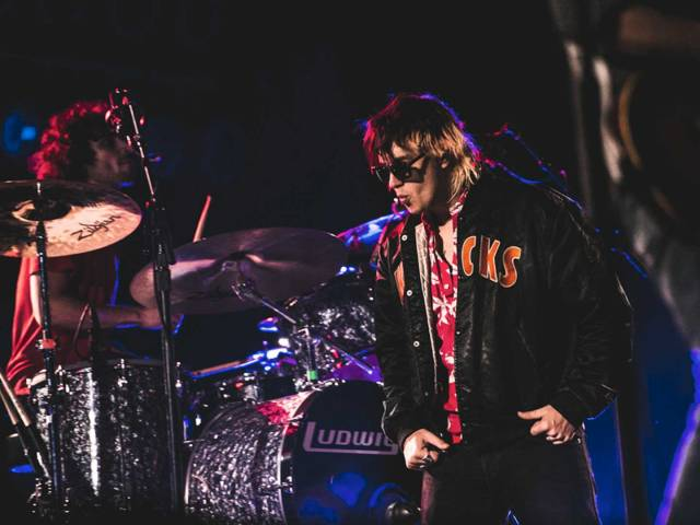 The Strokes playing live at ACL Festival 2015