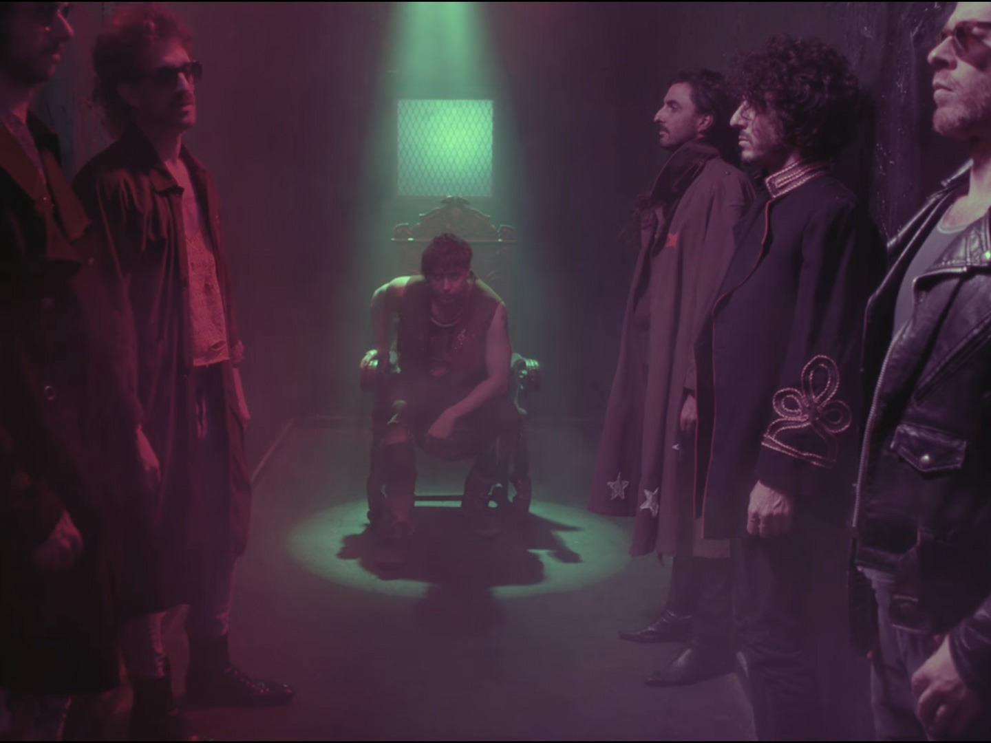 The Voidz in a promotional trailer