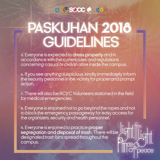 Paskuhan Guidelines 2