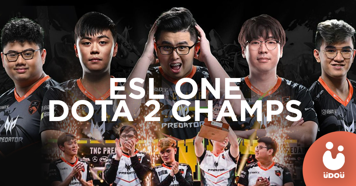 TNC Predator ESL One champs