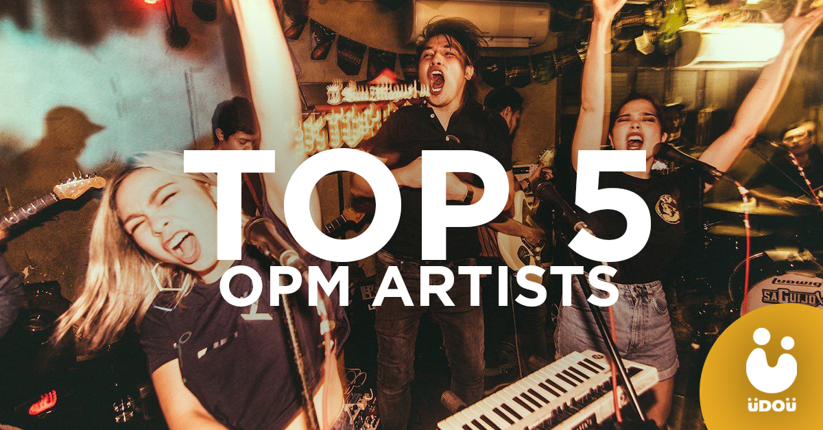 Weekly Top 5 OPM Artists U Do U Header