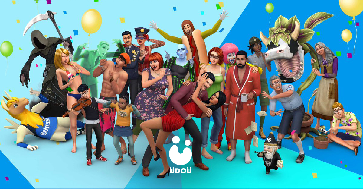 The Sims 20th Year Anniversary