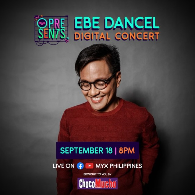 Ebe Dancel Digital Concert