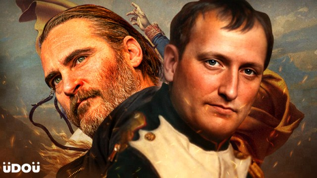 Joaquin Phoenix is Napoleon Bonaparte in Ridley Scott's 'Kitbag'