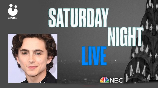 Timothee Chalamet will be on Saturday Night Live