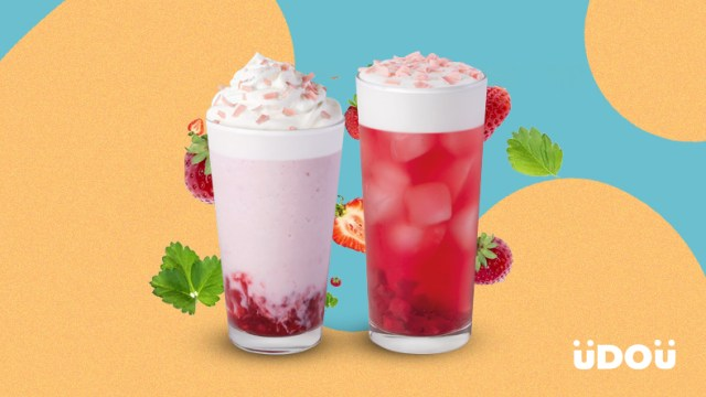 uDOu Poll: Which of Starbucks' New Strawberry Drinks is Better?