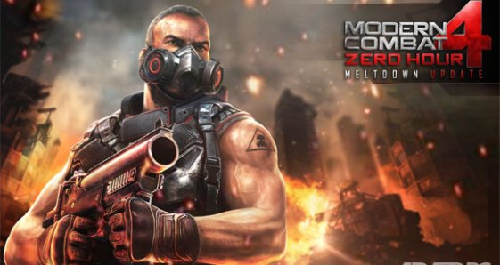 Modern Combat 4: Zero Hour v1 2 2e paid apk download
