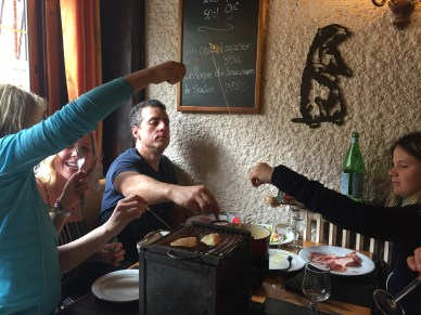 Alsace style lunch in Reims