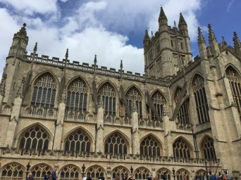 So pretty it hurts. The Abbey of Bath