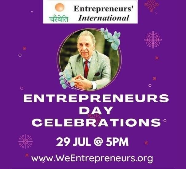 उद्योजक दिनी डॉ. विठ्ठल कामत यांच्या हस्ते उद्योजकांचे सत्कार