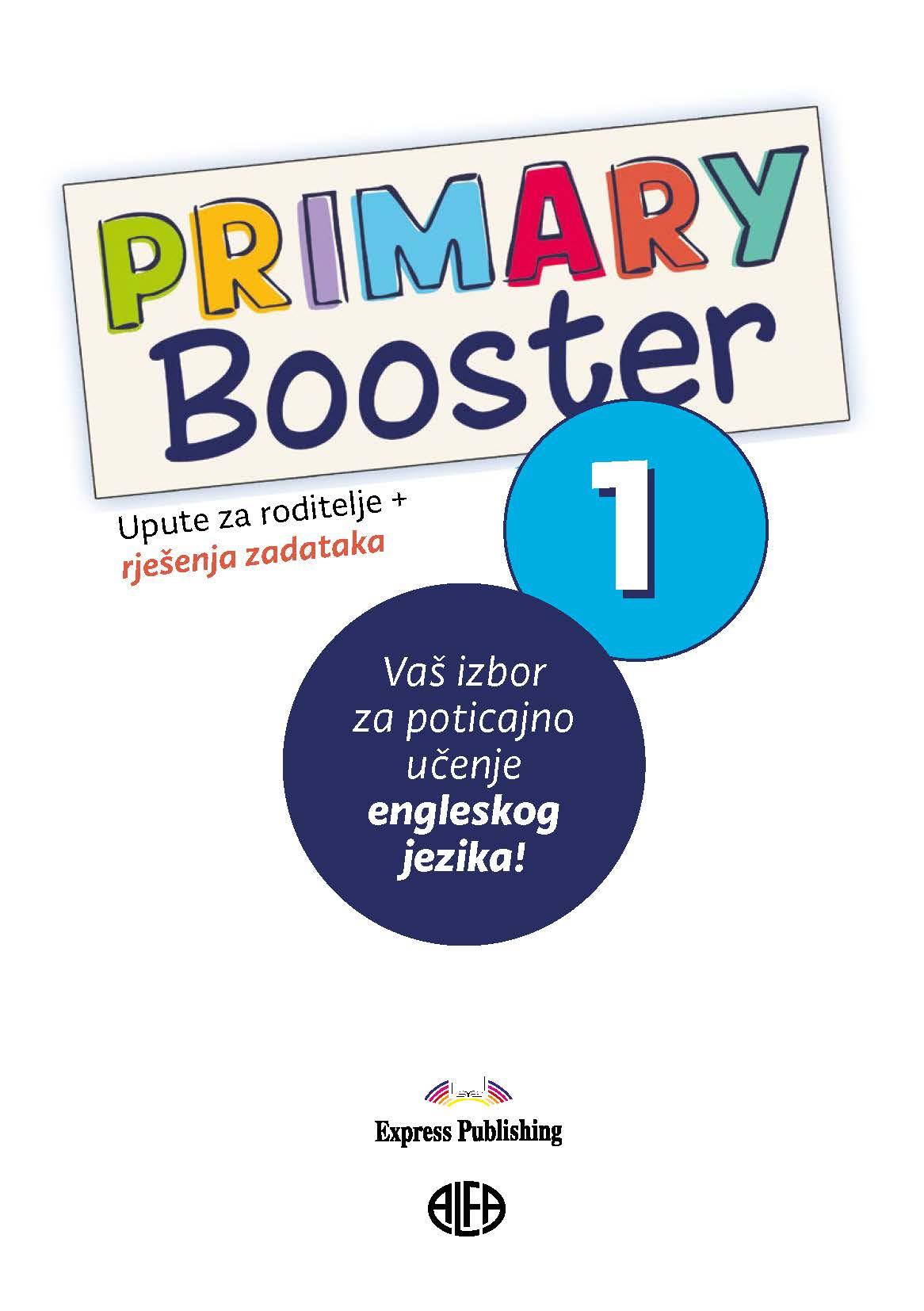 Primary Booster 1 – Upute za roditelje