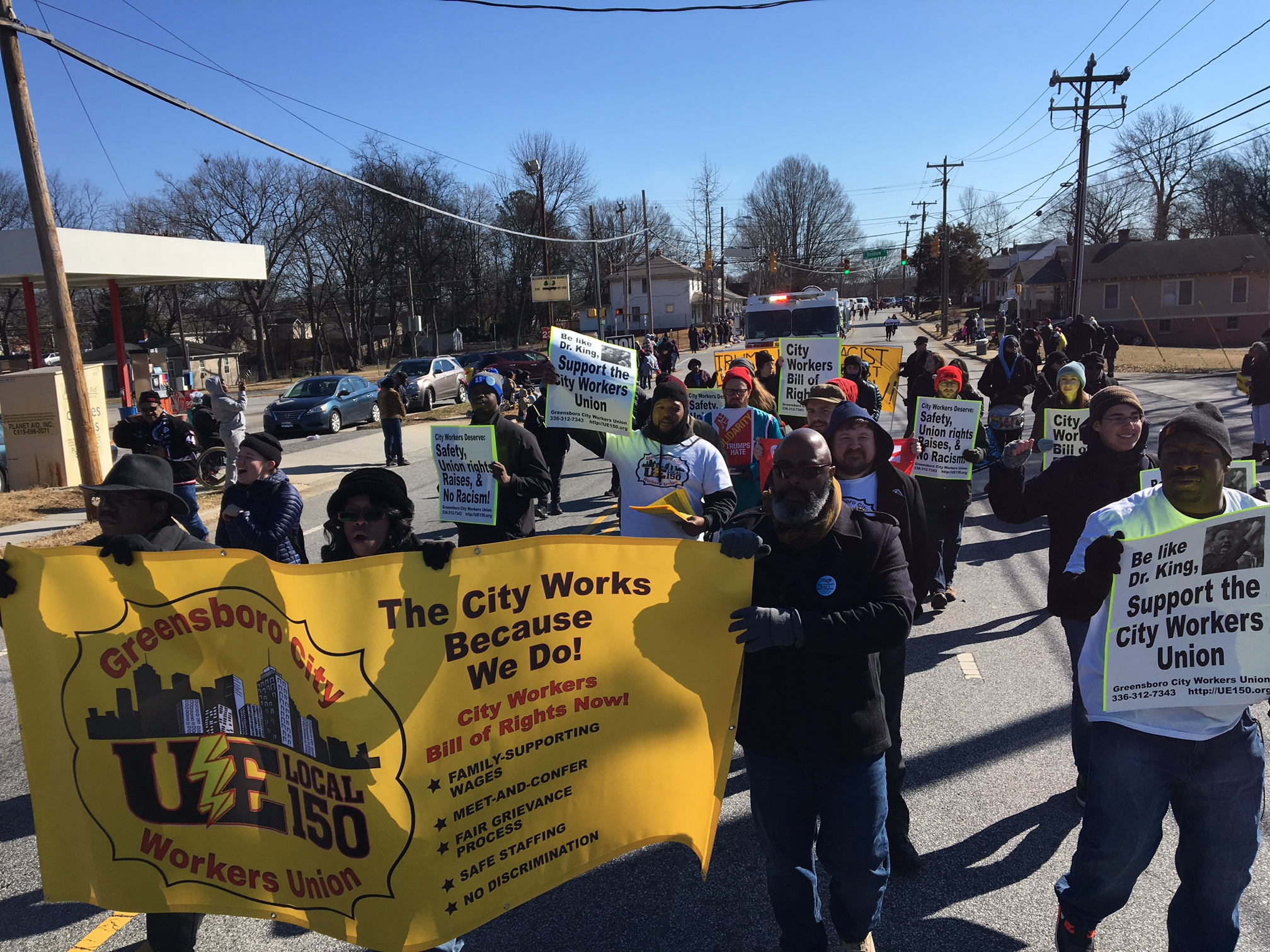 Building On Dr King S Legacy North Carolina Municipal Workers Kick