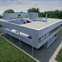 Villa Savoye Realtime Archviz